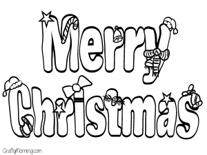 970 Coloring Pages Merry Christmas , Free HD Download