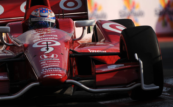 Scott Dixon - Sao Paulo Indy 300 - Day 2