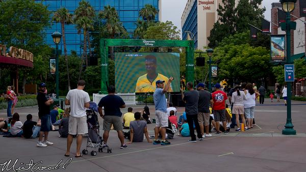 Disneyland Resort, Downtown Disney, ESPN, Big Screen TV, World Cup, Soccer