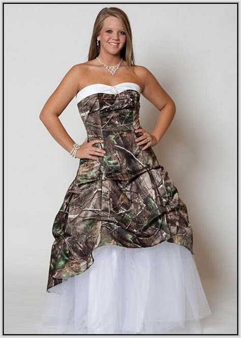 12 best images about Camo Wedding Dresses on Pinterest