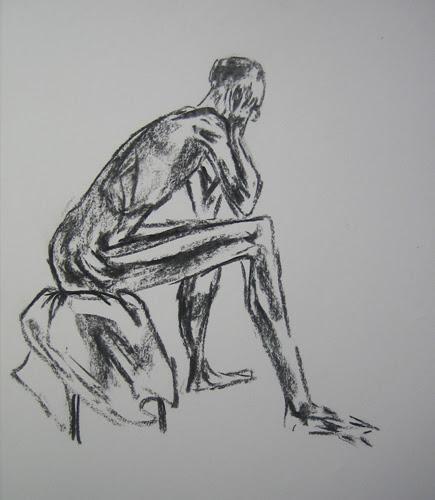 Matthew Felix Sun's Live Drawing _ 1985