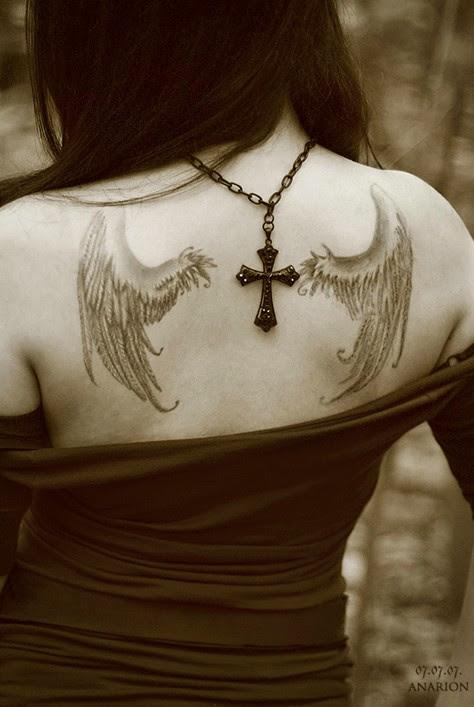 30 Angel Tattoos Designs Pretty Designs