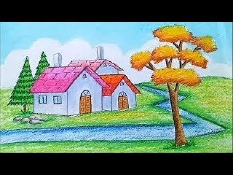 لوحات فنية رسم اطفال سهله Images Gallery