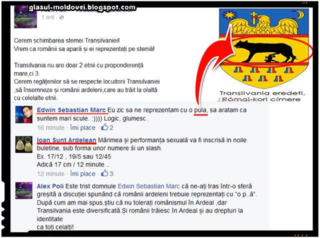 Iata cum vor promotorii autonomiei, federalismului si ardelenismului sa fie reprezentati romanii pe stema Transilvaniei, sursa imagine: facebook.com