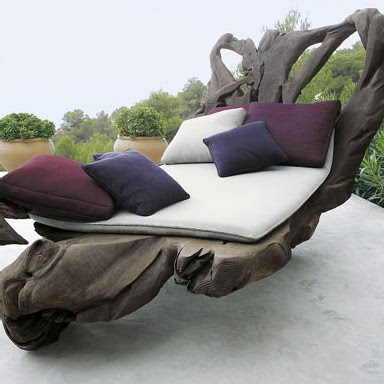 Outdoor Decor - Yarn Patio Mats from Paola Lenti Landscape Collection