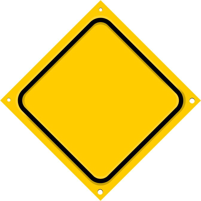 road sign diagonal blank - /blanks/road_signs ...
