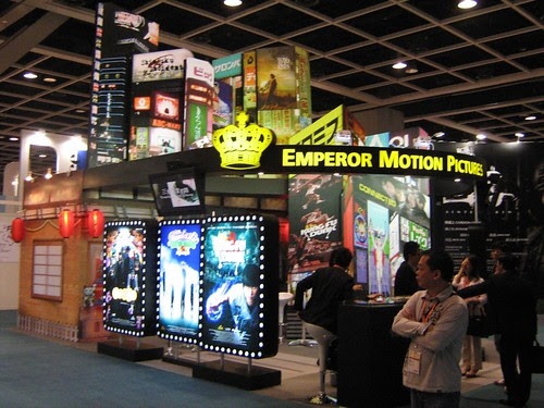 Emperor Motion Pictures booth