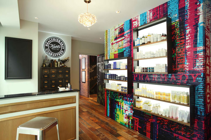 Kiehls Retail Store and Spa 1851 New York 04 Kiehls Retail Store and Spa 1851, New York