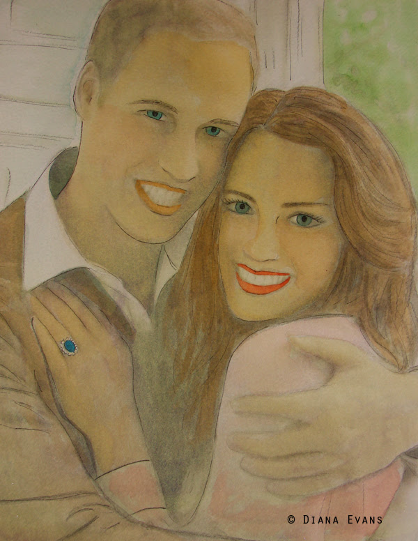 William and Kate 3- etsy