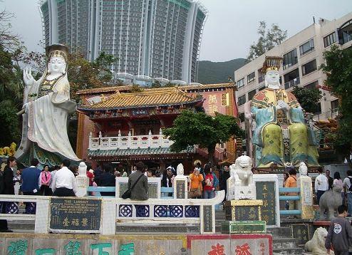 Kết quả hình ảnh cho REPULSE BAY & TIN HAU AND KWUN YUM STATUES