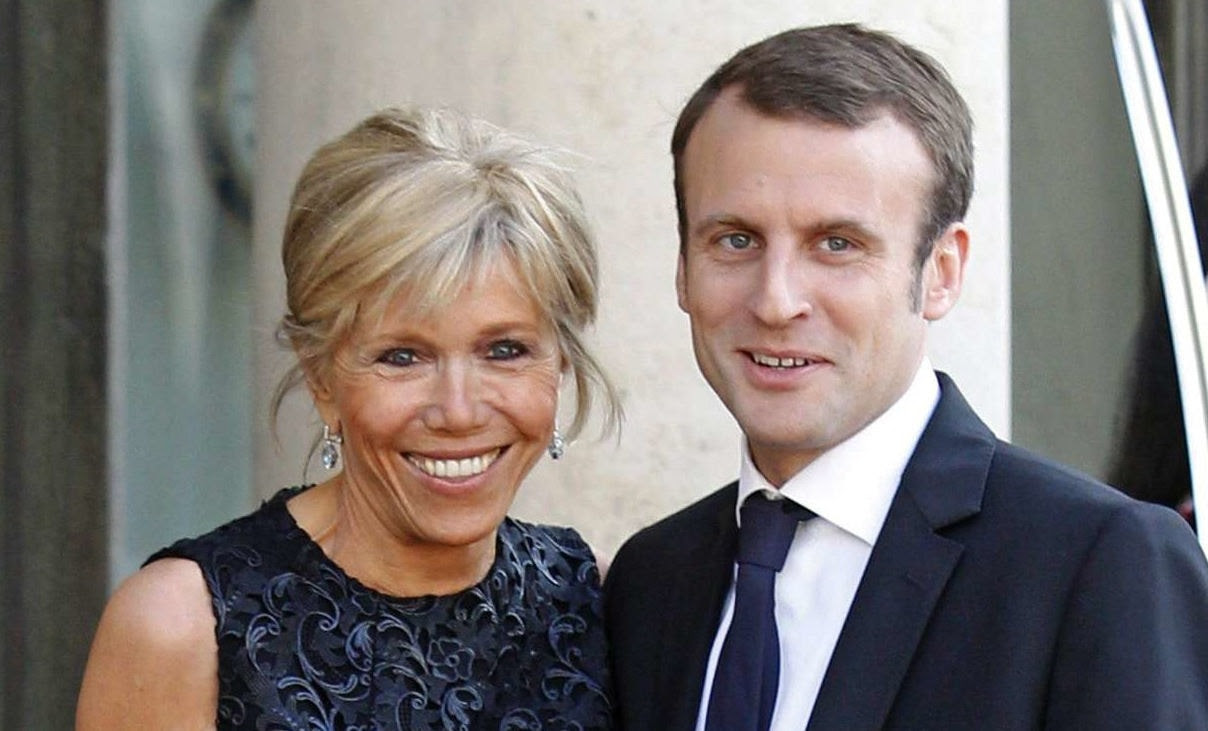 Emmanuel macron and wife brigitte trogneux arrive in washington. Emmanuel Macron, 39 And His 65-Year-Old Wife - Foreign ...