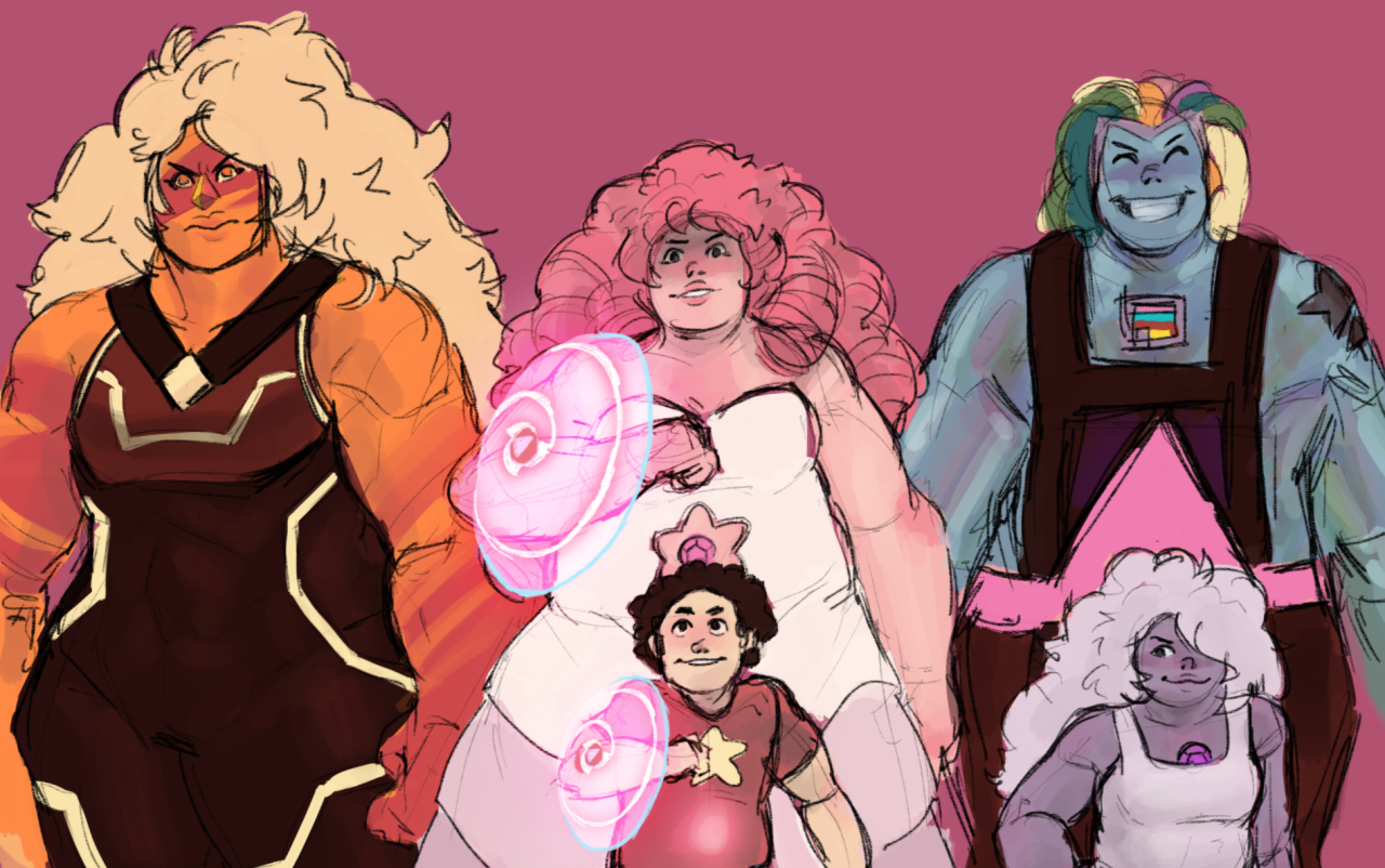 the quartzes! (+bismuth cause i needed to fill the space behind amethyst)
