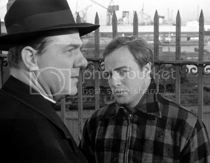 Karl Malden and Marlon Brando in 'On the Waterfront'