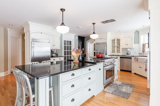 Coastal Cottage Style Kitchen | Home Design Ideas