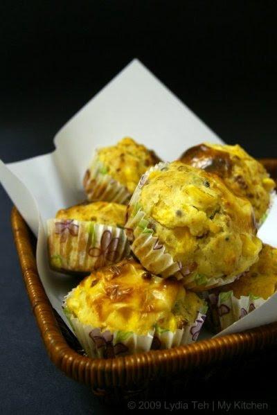 Bacon-Sweet Corn Muffin