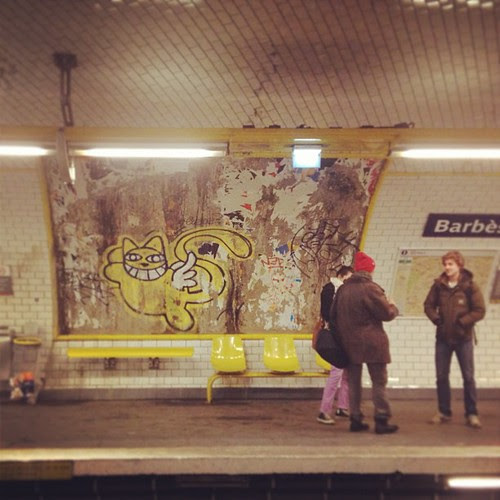Paris metró by la casa a pois