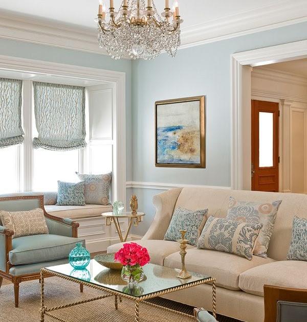 New home interior design a brilliant soft lovely decor for Duck egg blue living room ideas