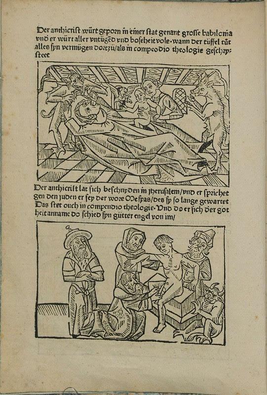 Incunabulum woodcut a