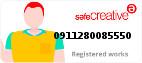 Safe Creative #0911280085550