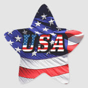 USA - American Flag Stickers