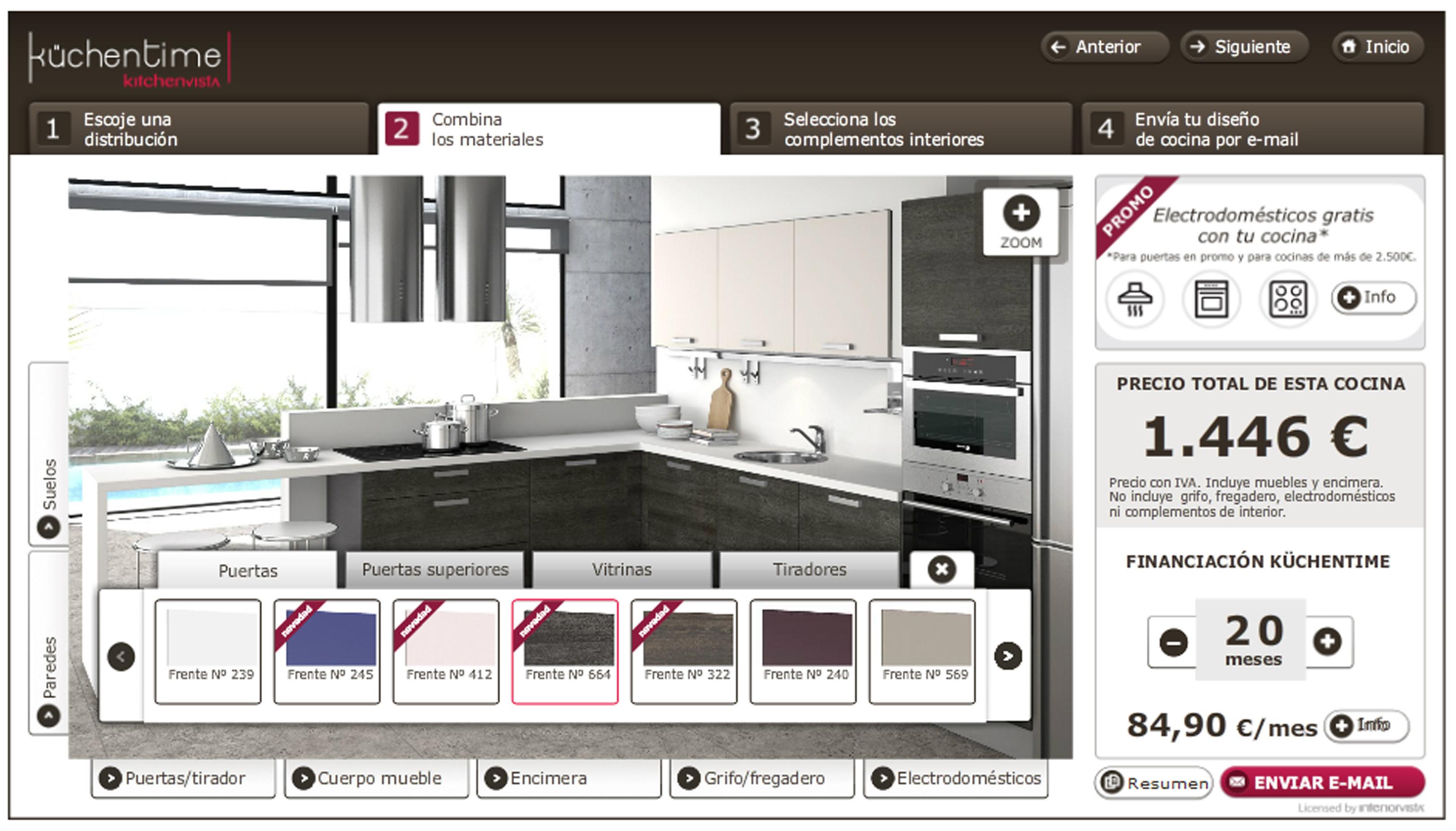 Dise ar cocinas en 3d gratis online casa dise o for Simulador de cocinas integrales online