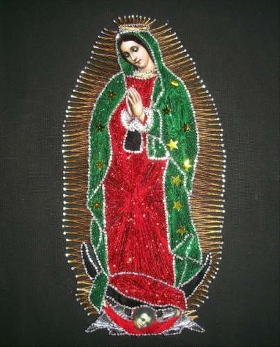 Imagenes De La Virgen De Guadalupe Faciles Imagui