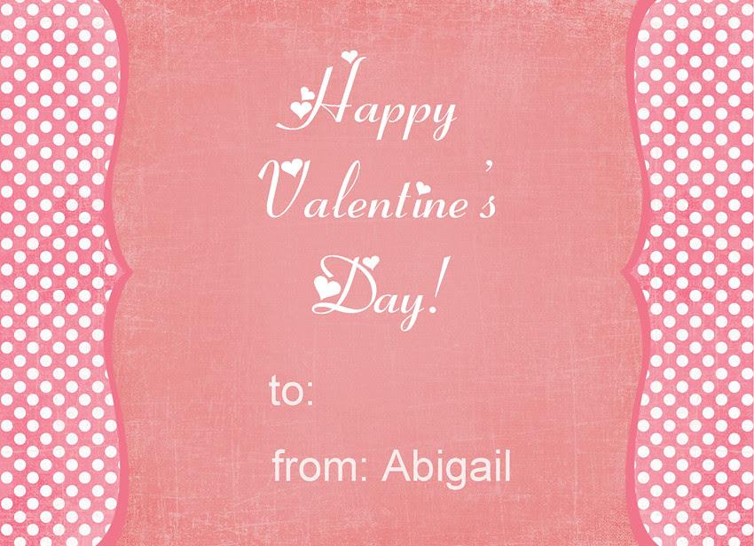 Abigail valentine back