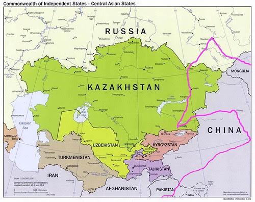 Kazakhstan-Russia-Mongolia