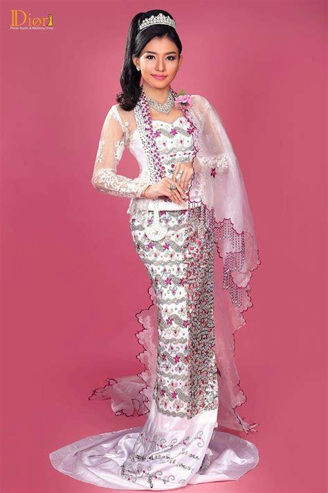 Myanmar Wedding Dress   Myanmar Wedding Dress   Pinterest