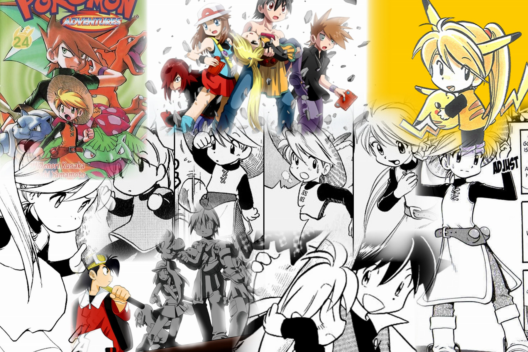 Pokemon Adventures Red Images  Pokemon Images