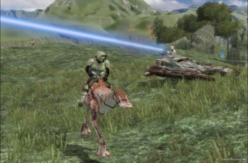 Naboo Plains Star Wars Battlefront 2 Gamemaps
