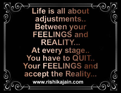 Life Is All About Adjustments Inspirational Quotes Pictures