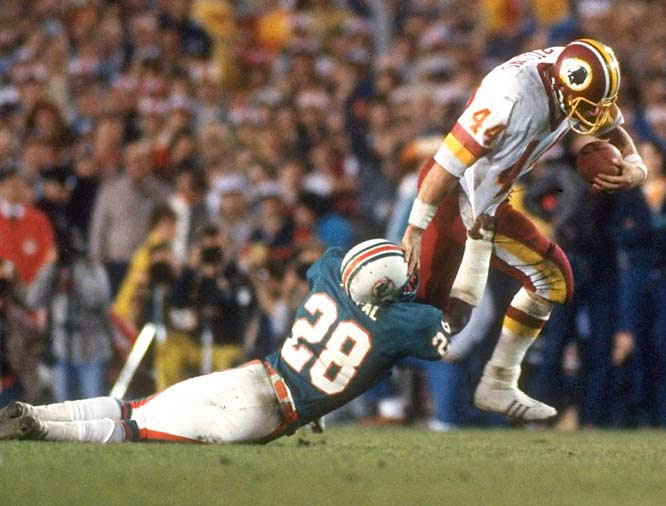 Redskins vs Dolphins - Super Bowl XVII
