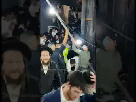 GRAPHIC: Dozens dead after mass crowding in Meron
