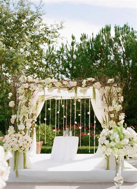 Wedding Flowers Ideas, Elegant White Rustic Wedding Arch