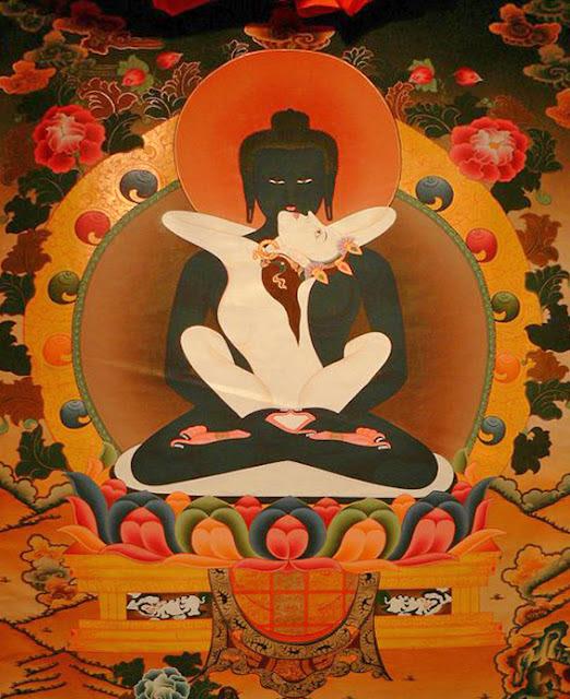secret of golden flower: buddha and goddess