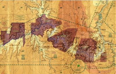 Grand Canyon VFR chart