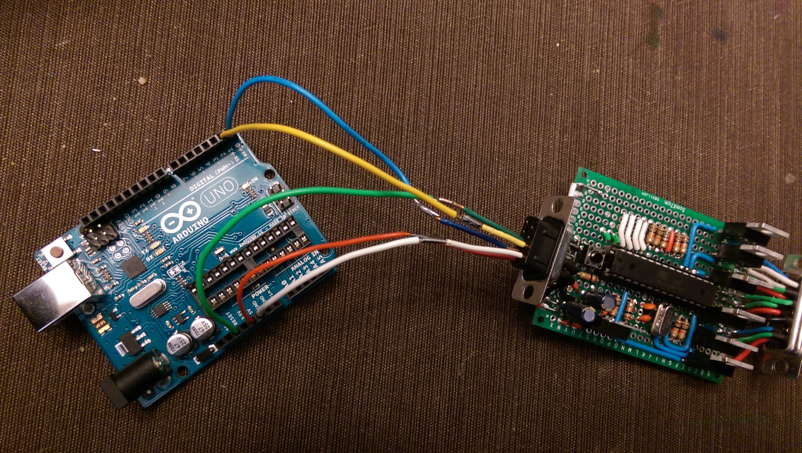 A geek out an arduino accelerometer controlled led