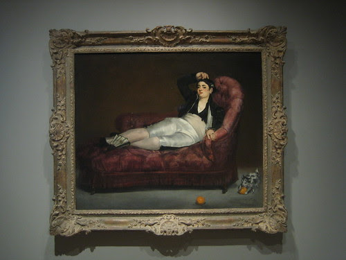 Young Woman Reclining in Spanish Costume, 1862-63, Édouard Manet _7730