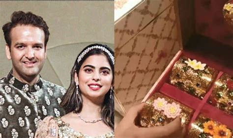 Isha Ambani And Anand Piramal Wedding Invitation Card