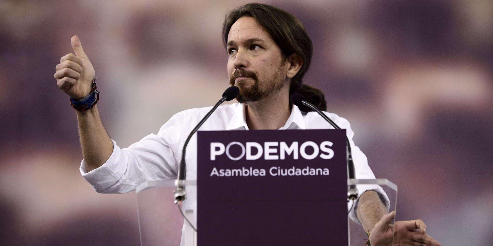 Risultati immagini per Pablo Iglesias podemos