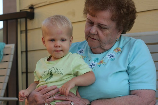 purple grandma