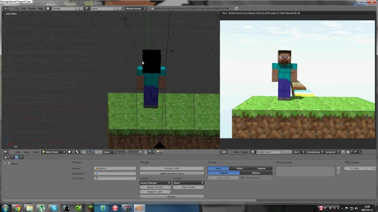 How to make a Minecraft animation - YouTube