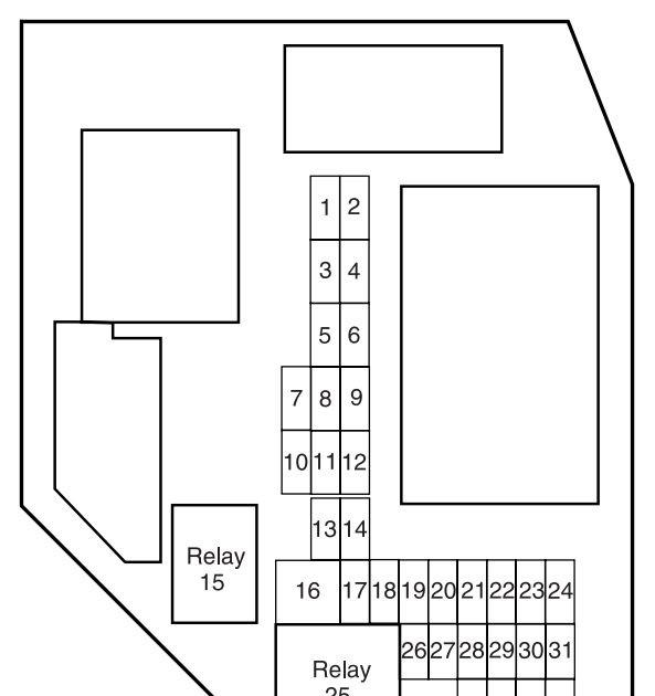 2004 Mazda B2300 Fuse Box Diagram