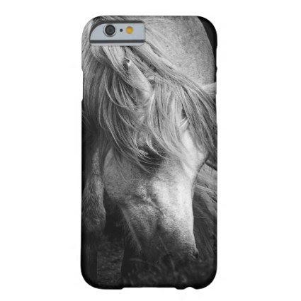 Monogram Pony Portrait - Dartmoor Pony Mare Barely There iPhone 6 Case