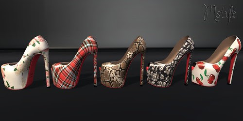 LOU Pumps - Pattern Pack by Mikee Mokeev