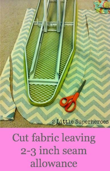 DIY Ironing Board Cover...good bc I can't find a non ugly one! #sew #quilt #fabric #sacramento #meissnersewing