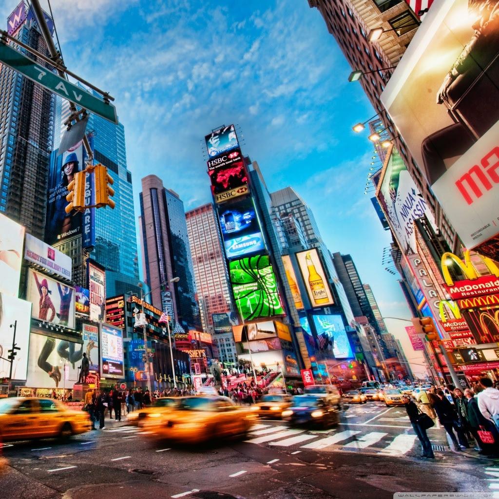 Times Square New York Ultra Hd Desktop Background Wallpaper For 4k