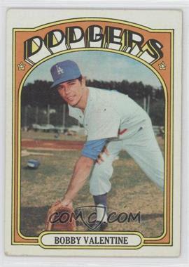1972 Topps #11 - Bobby Valentine - Courtesy of COMC.com