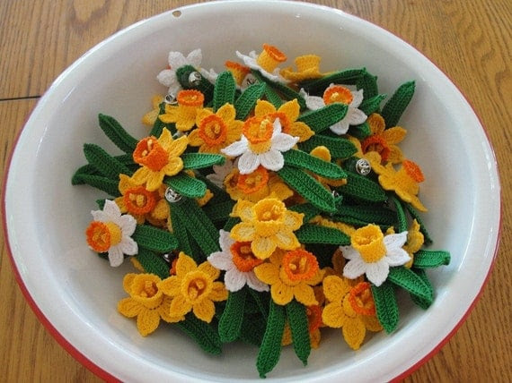 3d Crochet Daffodil Flower Pattern